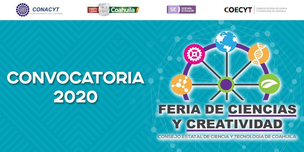 Convocatoria Feria de Ciencias y Creatividad Coahuila 2020
