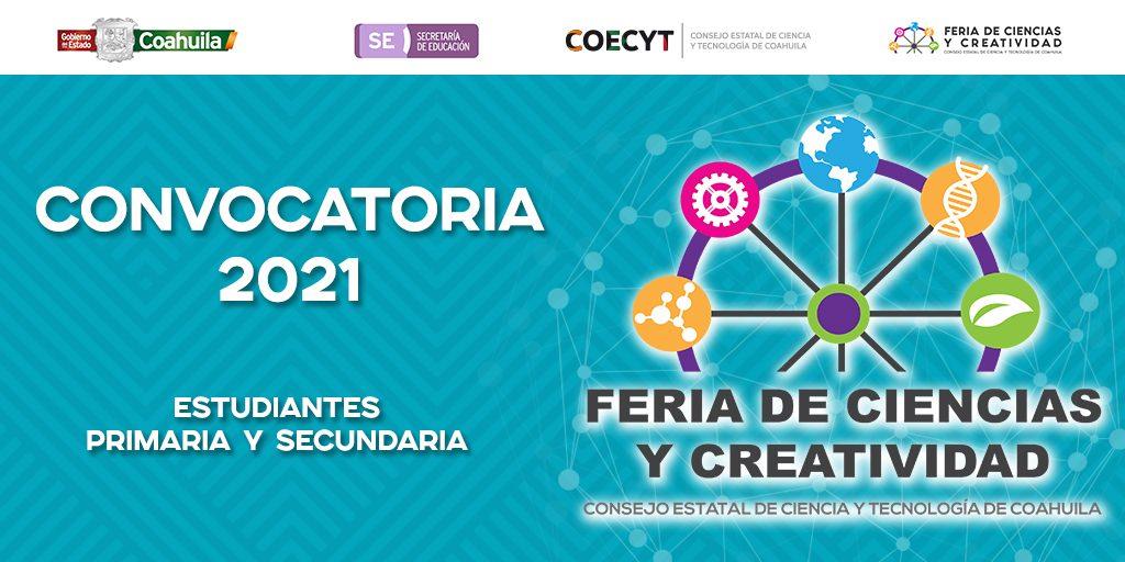 Convocatoria Feria de Ciencias y Creatividad 2021